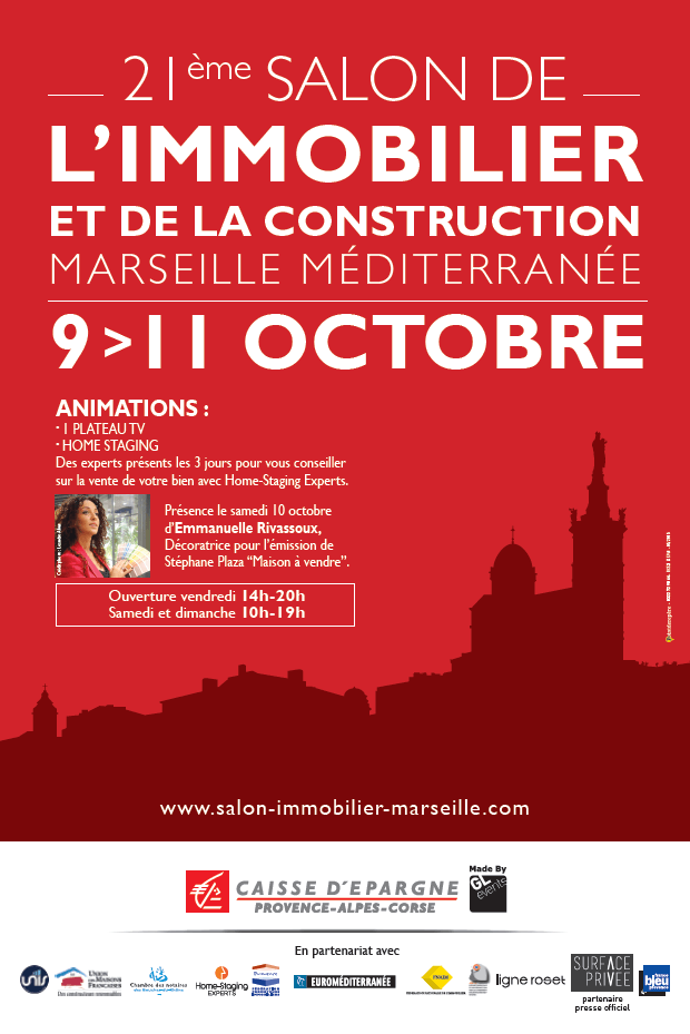 Marseille: Le salon de l'immobilier 2016 commence aujourd'hui !