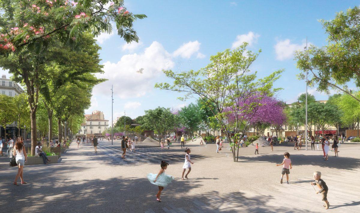 Marseille : Voici à quoi ressemblera La Plaine en 2020 !