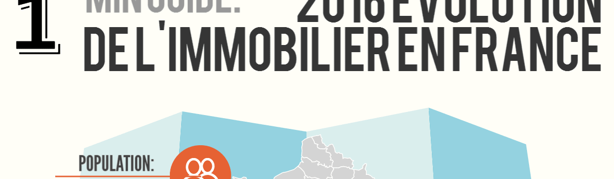 Infographie: Les tendances de l'immobiliers 2016 en France avec Active Diag 13
